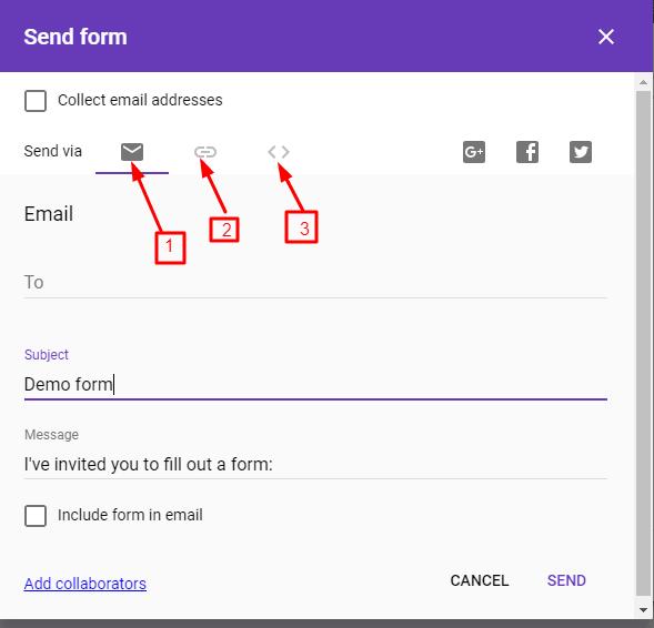 google form create krna