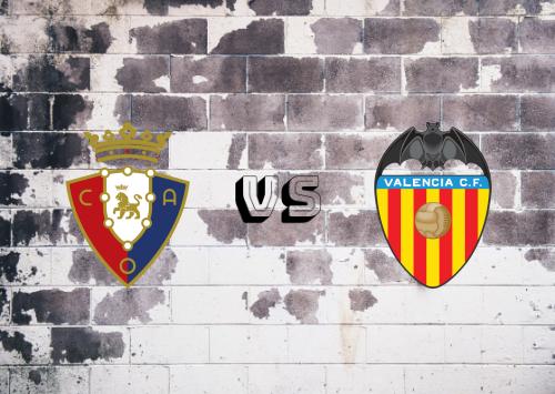 Osasuna vs Valencia  Resumen
