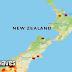Se registra un sismo de magnitud 5.9 en la isla sur de Nueva Zelanda