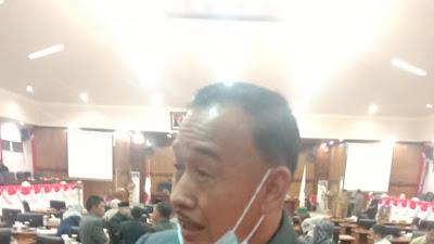 Komisi I DPRD Tanjabbar Sesalkan Jika Pekerjaan Proyek APBD Asal Asalan