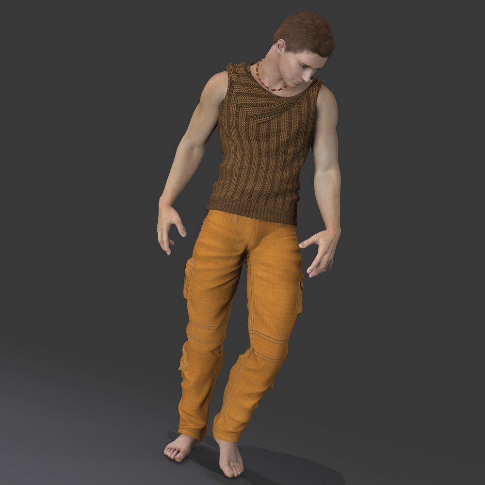 Daz3d michael 4 to