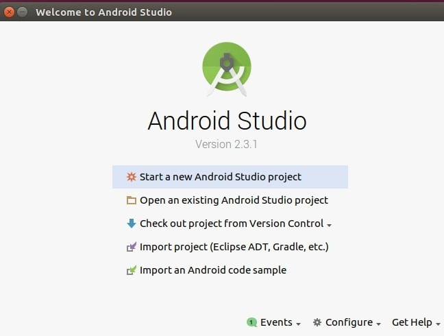 Android Studio User Interfaces
