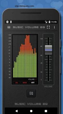 البرنامج الرائع Music Volume EQ للاندرويد