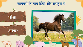 Horse name in sanskrit and hindi with images