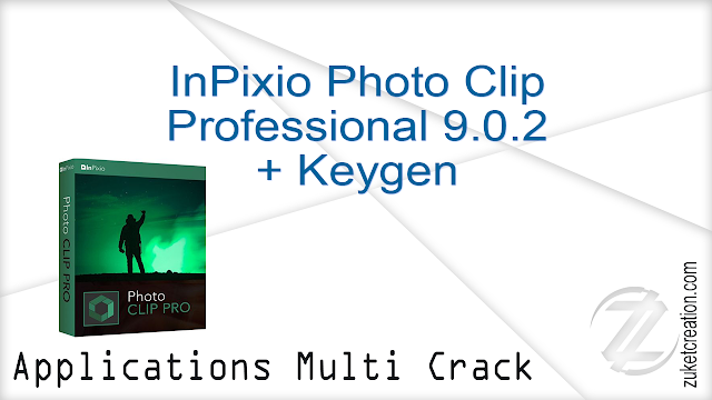 InPixio Photo Clip Professional 9.0.2 + Keygen    |  357 MB