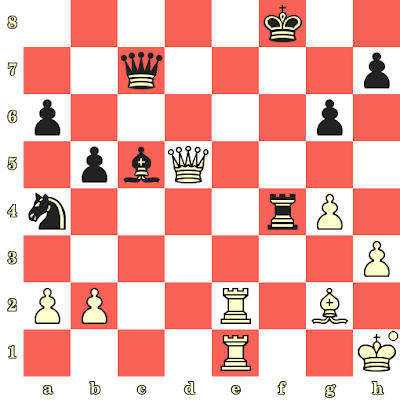 Les Blancs jouent et matent en 4 coups - C Tchalkhasuren vs Napoleon Garces, Leipzig, 1960