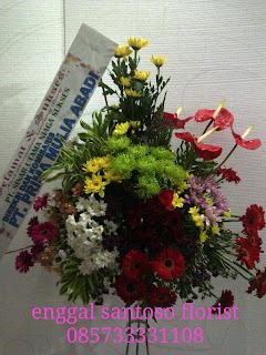 bunga standing flower pembukaan toko baru
