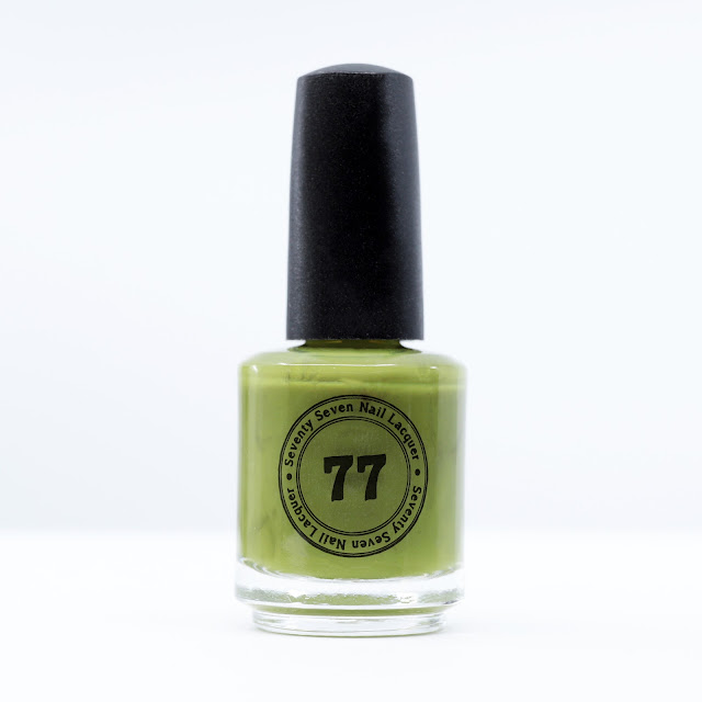 Seventy-Seven Nail Lacquer Who Ghost There?