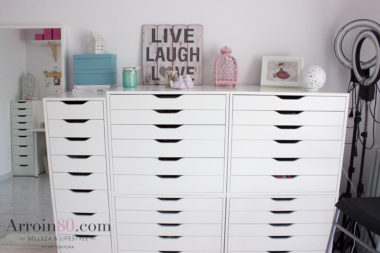 Arroin80 blog de belleza cosm tica y maquillaje room - Ikea cajonera alex ...
