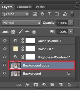 cara membuat efek amaro di photoshop