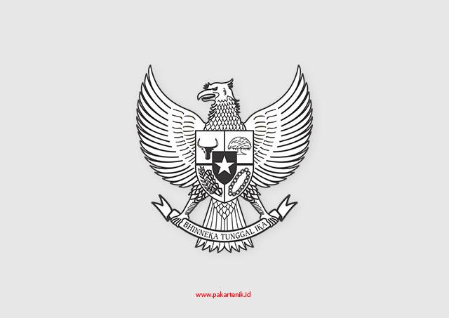 Download Vektor Logo Garuda Hitam Putih Format Cdr Dan Png Pakar Teknik