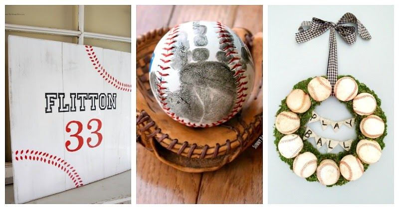 Diy Baseball Gifts For Every Fan On Your List Sunny Day
