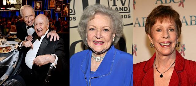 Carl Reiner, Betty White and Carol Burnett in Toy Story 4