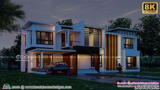 Ultra HD contemporary home rendering