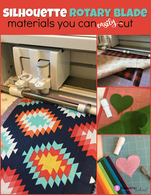 Silhouette rotary blade, rotary blade, cameo 4, cutting felt, fabric