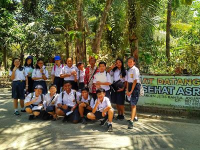 Field Trip SMP Budi Utama Sleman di Desa Wisata Jamu Kiringan