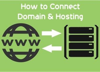 How to connect domain to hosting server ?