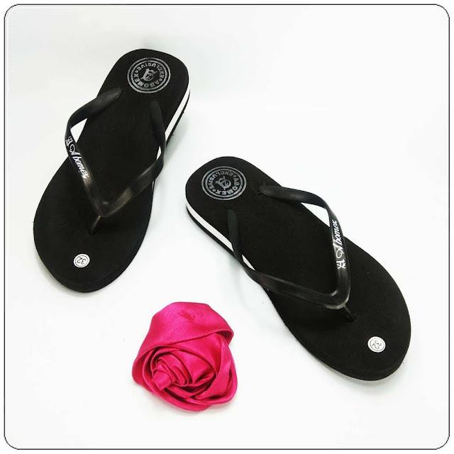 Wedges Sandal Anak Tanggung Murah- AMX Wedges Polos TG- Grosir Sandal