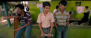 Naman and his buddies in Brahman Naman