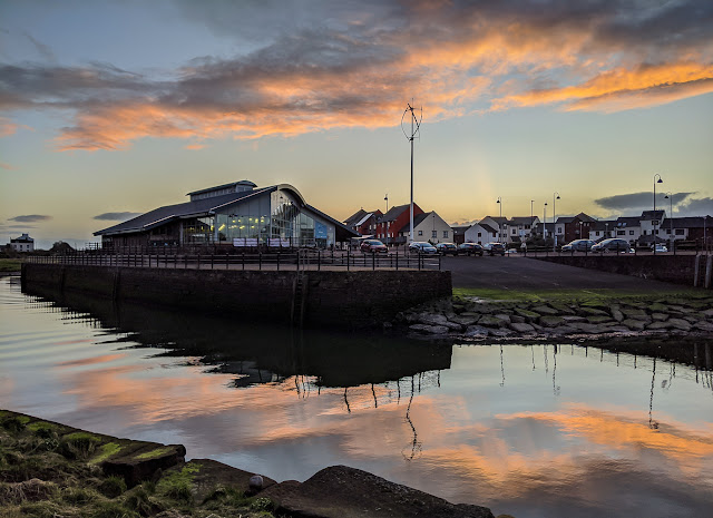 Photo of the Wave Centre at Maryport