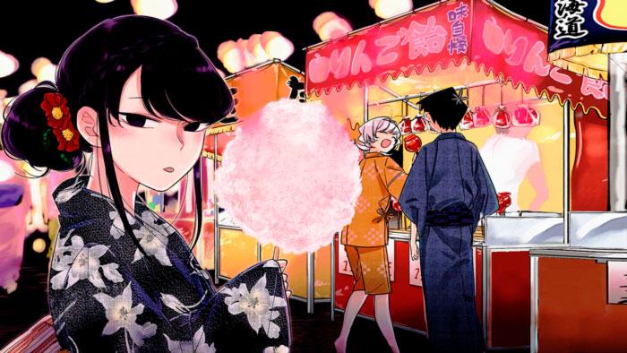 Komi-san no piede comunicarse (Komi-san wa Komyushou Desu) manga - Tomohito Oda