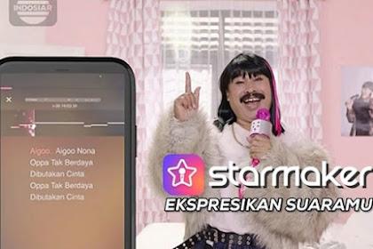 "Lirik Lagu Iklan StarMaker ""Aigoo Nona Oppa Tak Berdaya"""