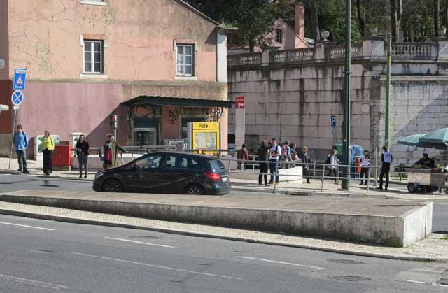 Rato Station Lisbon Metro