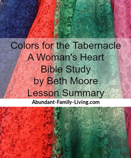 Colors for the Tabernacle