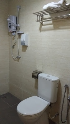 kamar mandi di My Hotel At KL Sentral