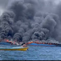 Penyebab Kapal Terbakar di Pulau Kabaena Bombana
