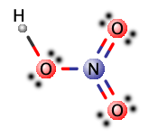 lewis ácido nítrico