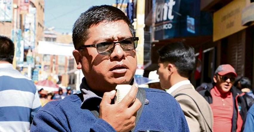 Docentes de Puno apoyan a Candidato presidencial Pedro Castillo por cambio de Constitución