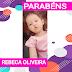 PARABÉNS hoje especial também para princesinha Rebeca Oliveira Costa 🎉🎂🎊👏