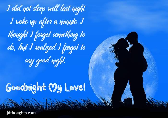 Best Good Night Love And Good Night Love You Messages Quotes With Romantic Goodnight Images Jdthoughts Yoga Interior Design Ideas Business Home Decor Landscaping Fashion Quotes