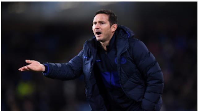 Transfer: Lampard  battles with Chelsea Board on the signing of Declan Rice