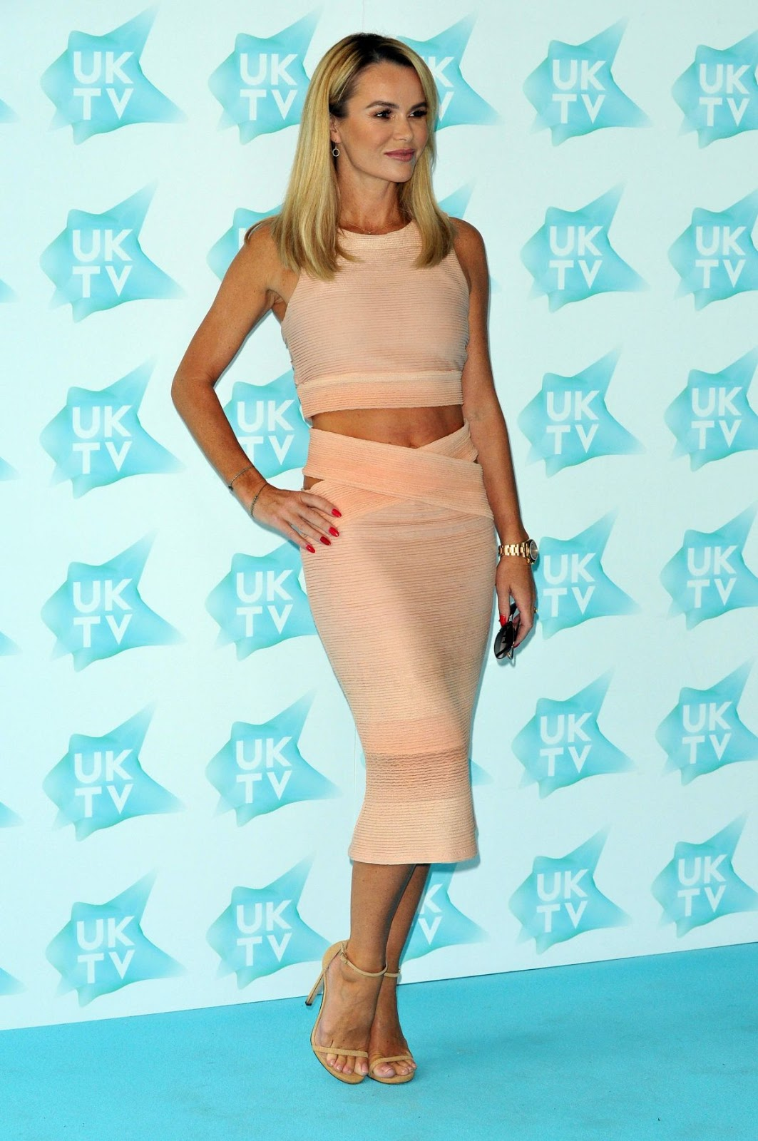Britain's Got Talent judge Amanda Holden At UK-TV Live New Season Launch In London Hd Photos