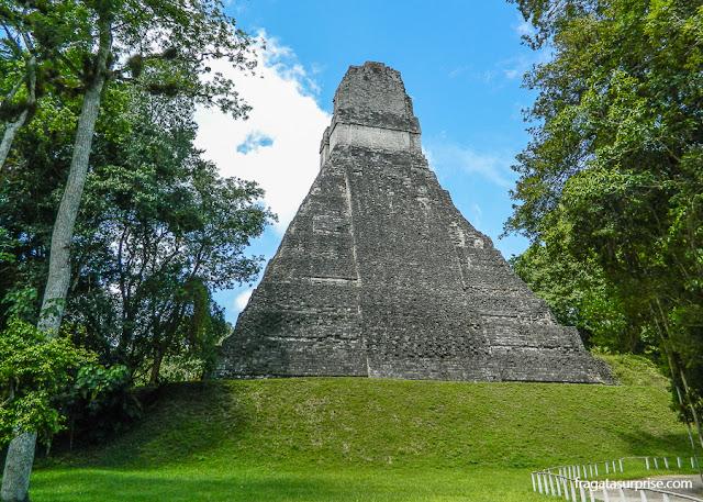 Templo III, Tikal, Guatemala