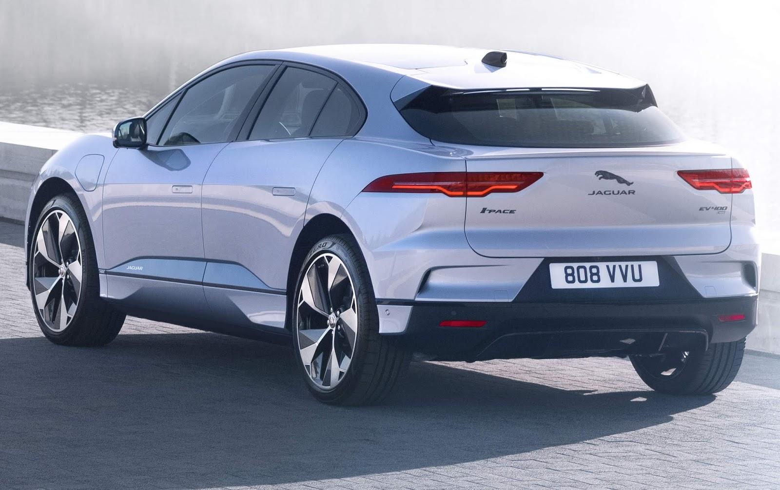 Jaguar I-Pace: SUV elétrico ganha sistema de carga rápida ...