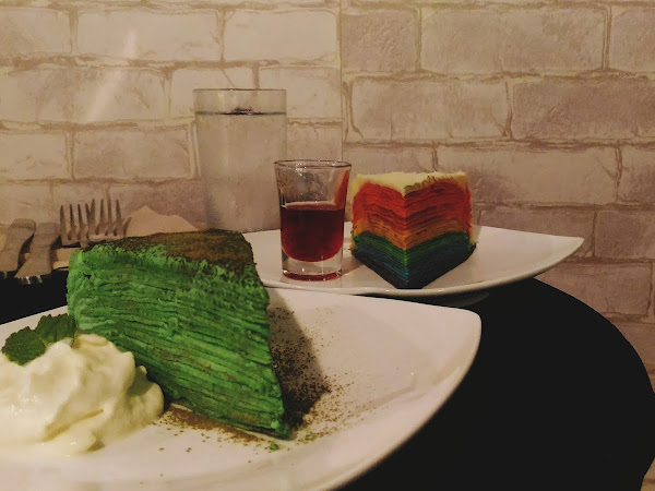 CREPE CAKES @ LAST COURSE CAFE