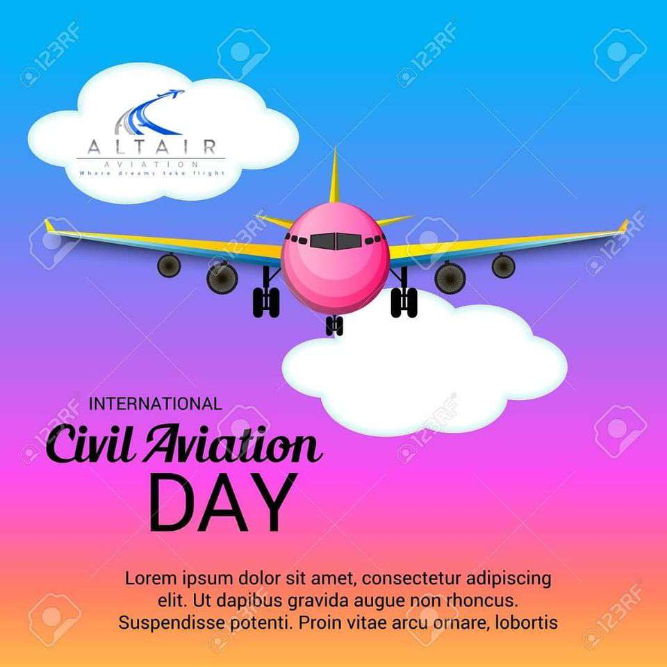 International Civil Aviation Day Wishes Sweet Images