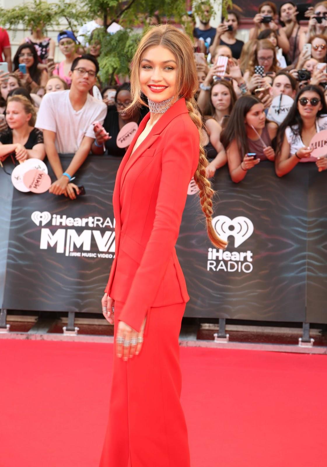 HD Photos of Gigi Hadid at iHeartRADIO MuchMusic Video Awards 2016 in Toronto, Canada