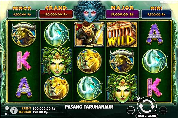 Main Slot Gratis Indonesia - Medusa Strike (Pragmatic Play)