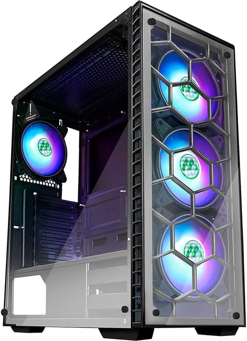 Review MUSETEX Phantom Black ATX Mid Computer Case
