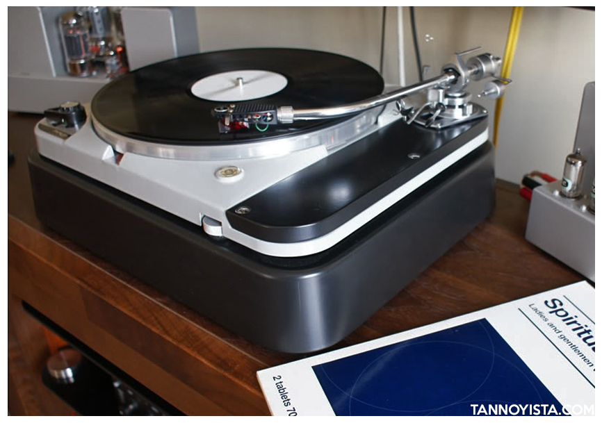 Thorens TD-124 MKII - Ortofon Rhondo RED MC - QUAD II Amplifiers
