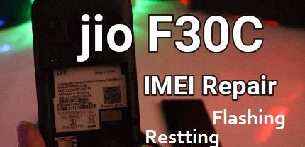 Jio F30c Flash File