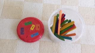 zabawki montessori, patyczki do lodów, patyczki kreatywne