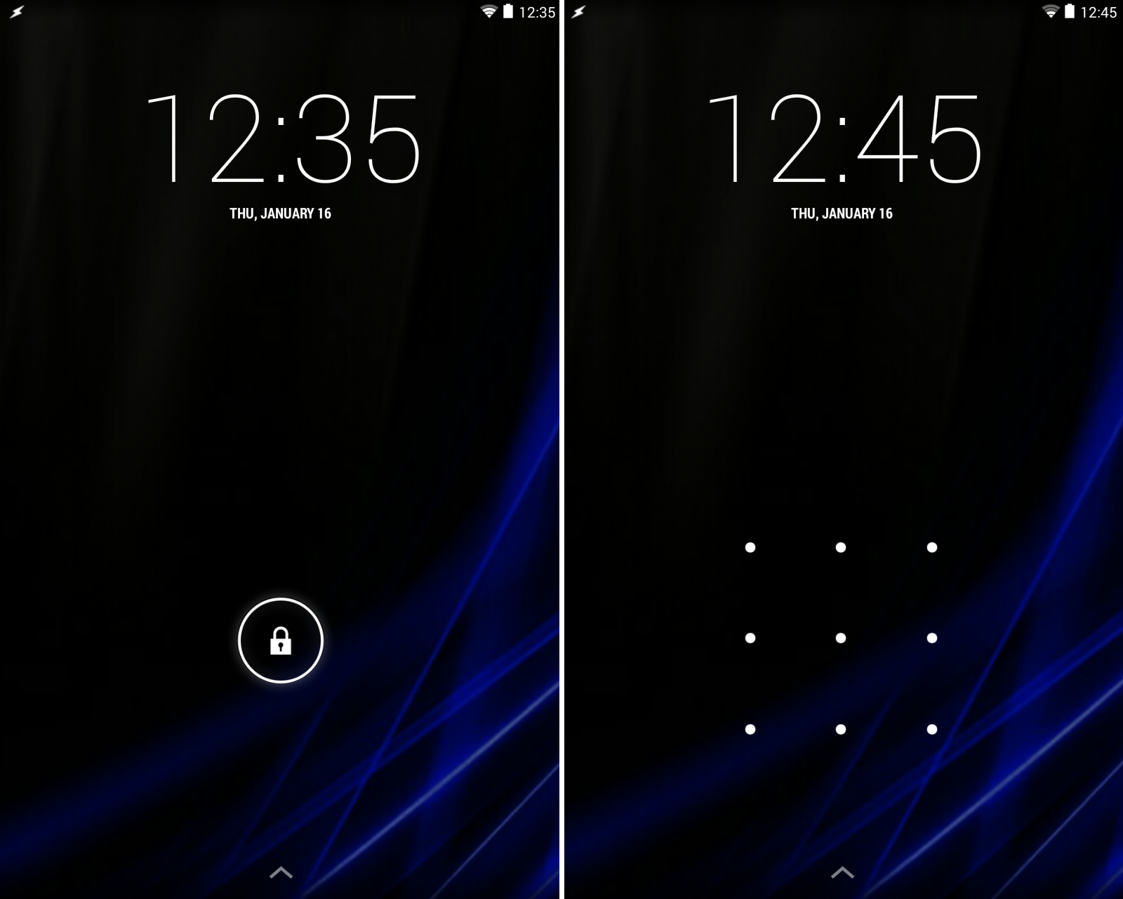 Android, Penguin and Life: Android Lock Screen Security