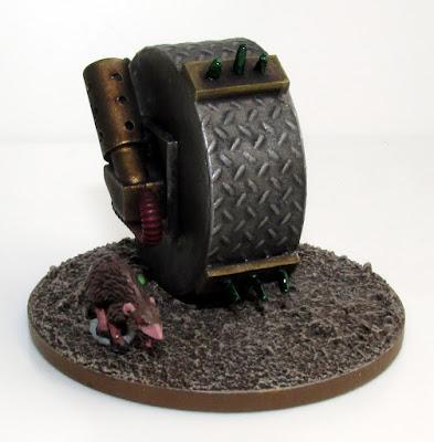 6mm Fantasy Skaven Doomwheel