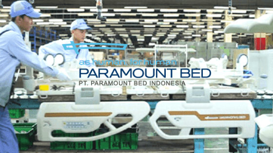 Lowongan Kerja PT Paramount Bed Indonesia