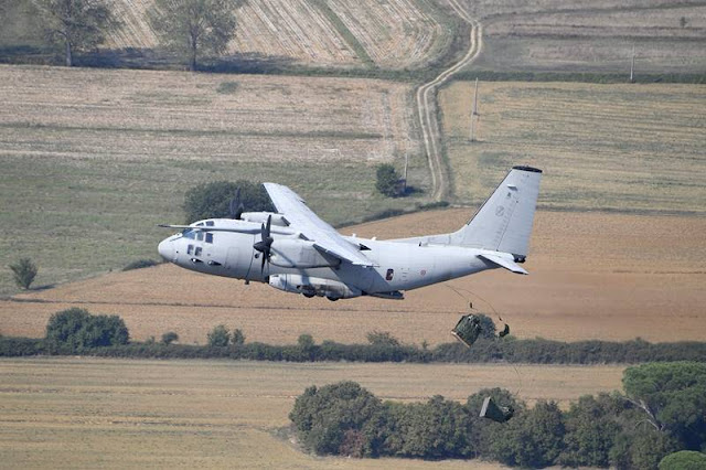 Italian Air Force C-27J plays key role in FARP advanced refueling system tests